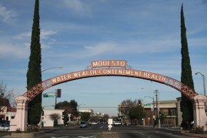 modesto injury town